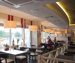 дизайн интерьера ресторана мал