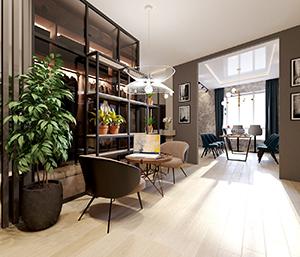 интерьер в современном стиле заказать дизайн в современном стиле мал