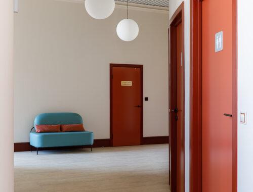 Интерьер офтальмологической клиники